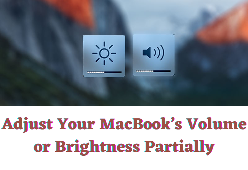 MacBook's Volume or Brightness