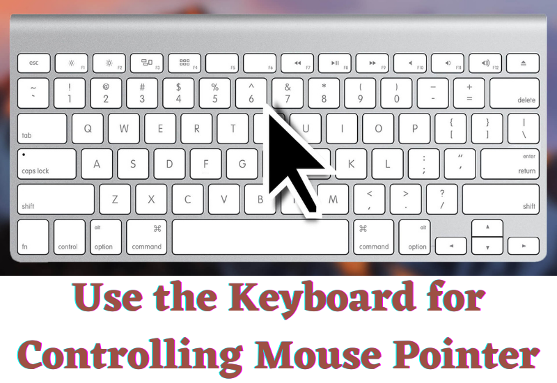 Controlling Mouse Pointer