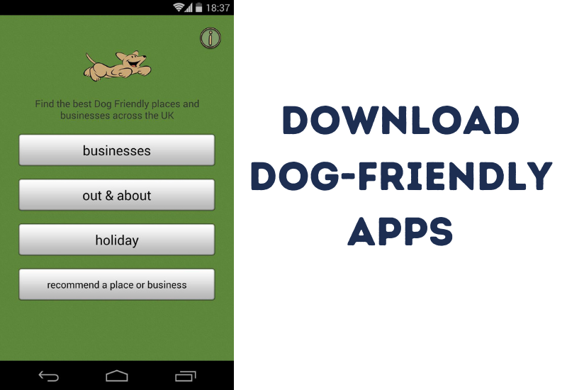 Download Dog-friendly apps