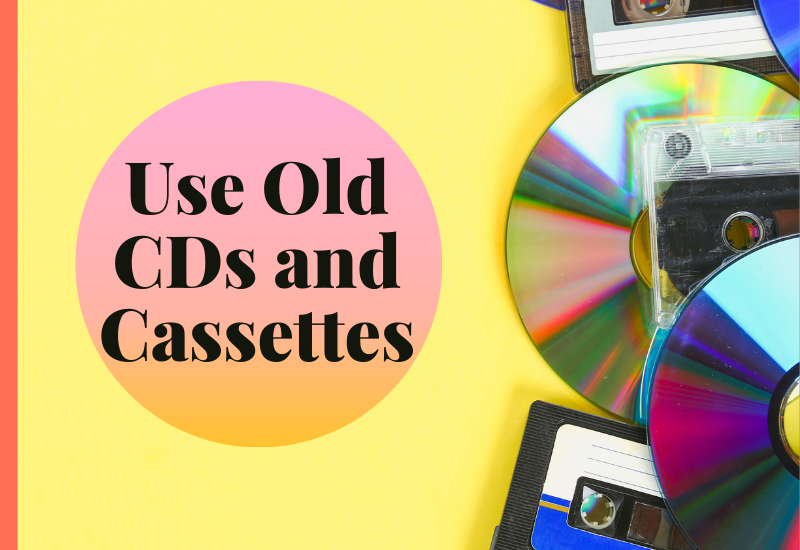 Old CDs and Cassettes
