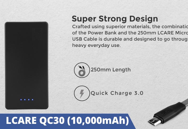 LCARE QC30 (10,000mAh)