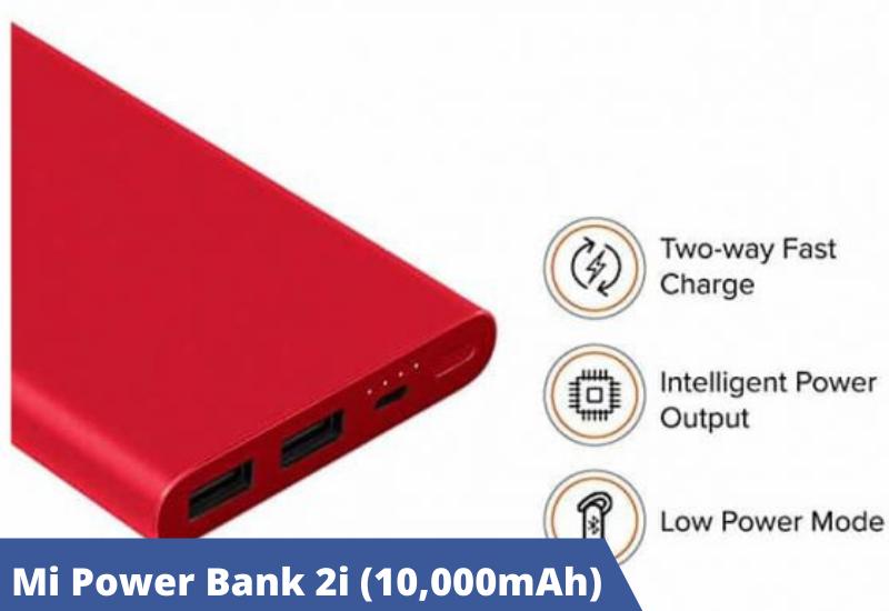 Mi Power Bank 2i (10,000mAh)