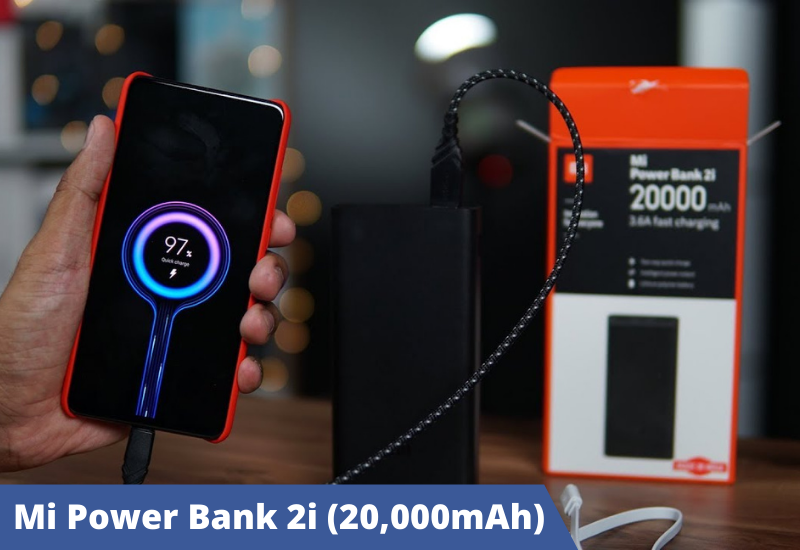 Mi Power Bank 2i (20,000mAh)