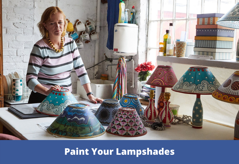 Paint Your Lampshades