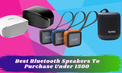 Best Bluetooth Speakers To Purchase Under 1500