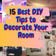 15 Best DIY Tips to Decorate Your Room