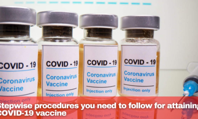 Stepwise procedures you need to follow for attaining COVID-19 vaccine