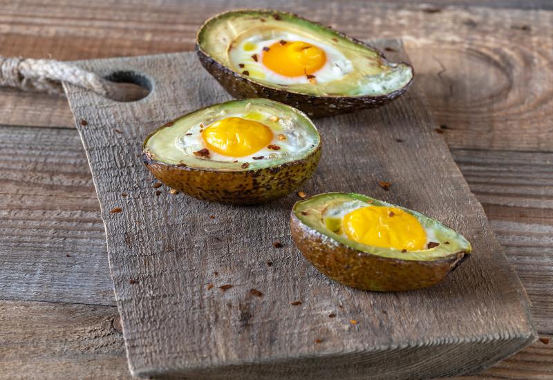 Avocado and Egg Yolk Treatment