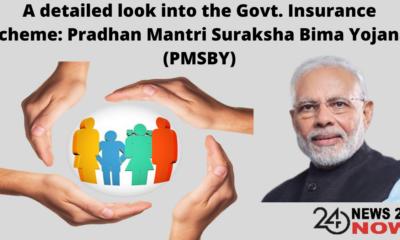 Govt. Insurance scheme Pradhan Mantri Suraksha Bima Yojana (PMSBY)