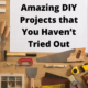 Amazing DIY Projects