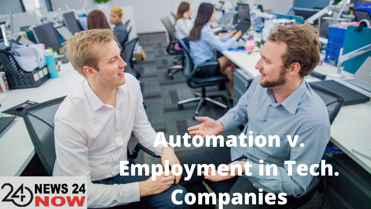 Automation v. Employment in Tech. Companies