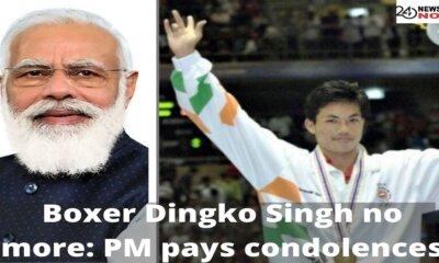 Boxer Dingko Singh no more: PM pays condolences
