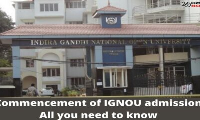 Commencement of IGNOU admission