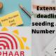 seeding Aadhar Number for ECR