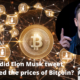 Elon Musk tweet influenced the prices of Bitcoin