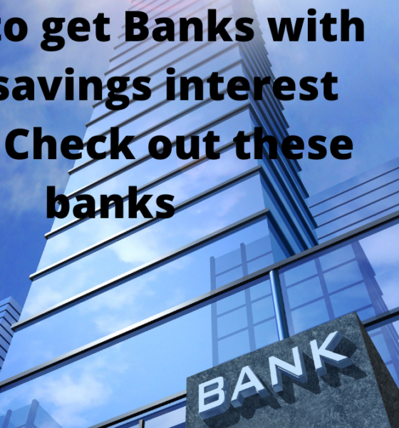 banks with high savings interest rates
