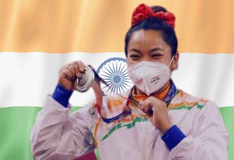 Mirabai Chanu- Silver medalist