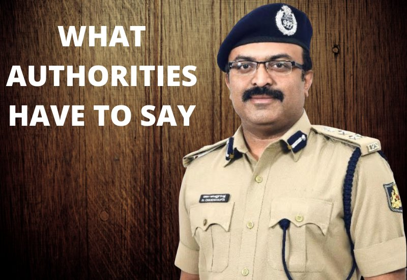 WHAT AUTHORITIES HAVE TO SAY