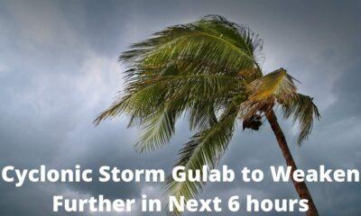 Cyclonic storm Gulab