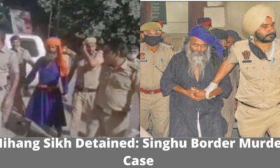 Nihang Sikh Detained Singhu border murder case