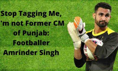 Footballer Amrinder Singh